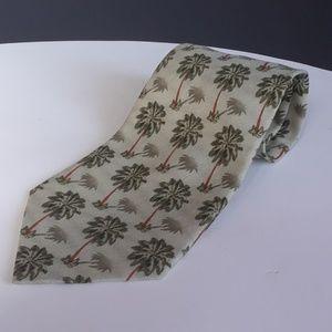 TOMMY BAHAMA Silk Tie Palm Trees